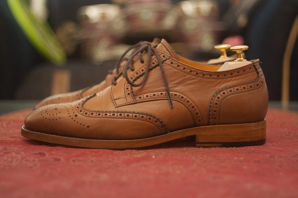 男性 皮靴