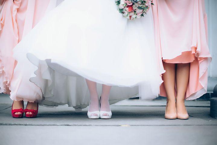 結婚式のドレス