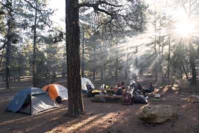 キャンプ バーベキュー