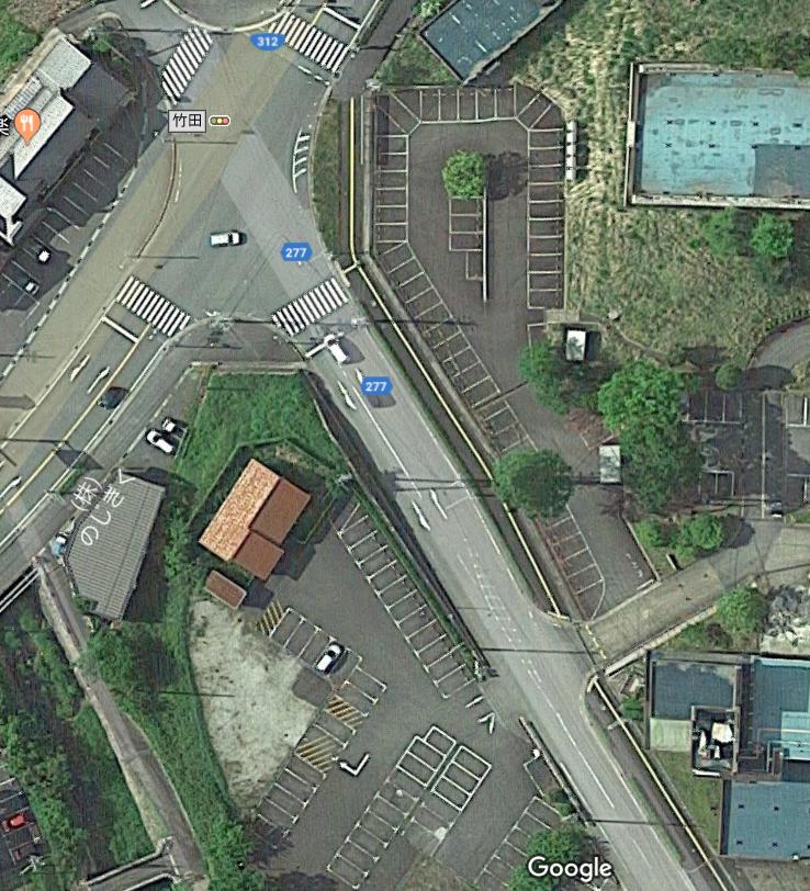 竹田城跡 駐車場 B1
