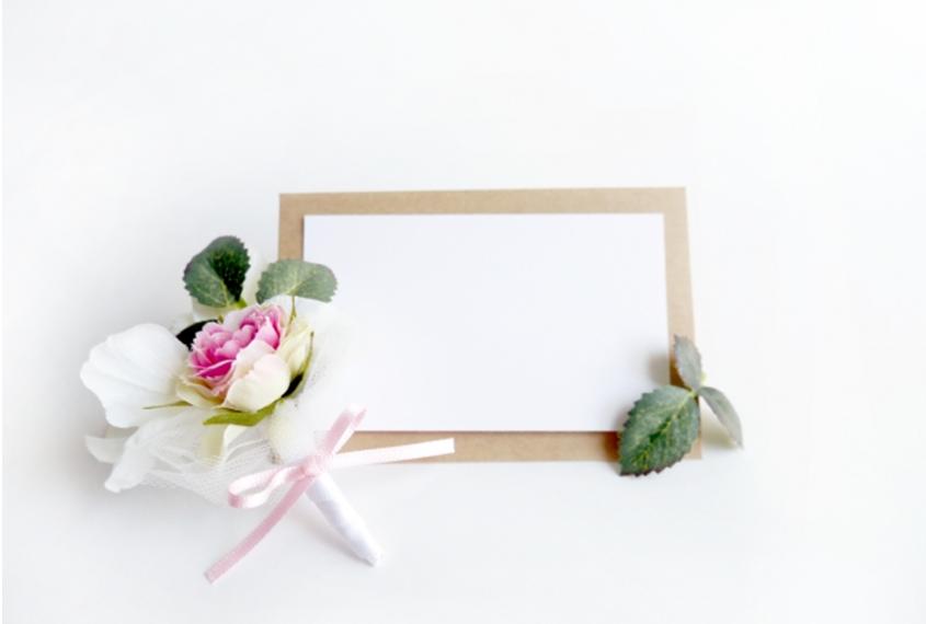 結婚式 メッセージカード